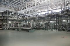 Zasilanie elektryczne stacja, inside Obraz Stock