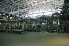 Zasilanie elektryczne stacja, inside Zdjęcie Stock