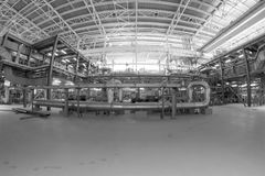 Zasilanie elektryczne stacja, inside Fotografia Royalty Free