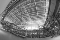 Zasilanie elektryczne stacja, inside Obrazy Stock