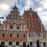 zaskórniki mieścą Latvia Riga fotografia stock