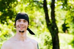 Zaskakiwał pirata portret zdjęcia royalty free