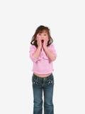 zaskakująca azjatykcia dziewczyna zdjęcia royalty free
