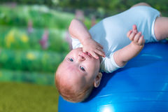 zaskakujący dziecko portret Fotografia Stock
