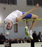 Zaskalko Evgen on high jump Stock Images