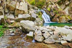 The Zaskalnik Waterfall Stock Image