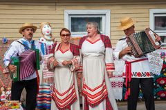 Zaslavl, Belarus, 07-September-2014: celebration of Event Stock Photos