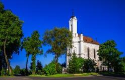 Zaslavl, Weißrussland, katholisch stockbild