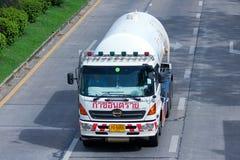 Zasoby gazu firmy ciężarówka Zdjęcie Royalty Free