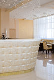 zasłony prętowa krystaliczna restauracja Obrazy Royalty Free