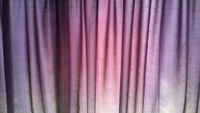 Zasłony tkanina Fotografia Stock