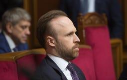 Zastępca Szefa Prezydencka administracja Ukraina Filat Obrazy Stock