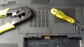 Zastępstwo bateria w laptopie zdjęcie wideo