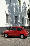 Zastava retro car Royalty Free Stock Photography