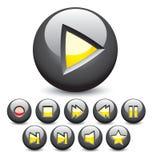 zastosowań ikon sieć Zdjęcia Royalty Free