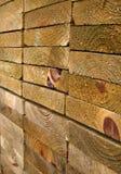 zaszaluje drewnianą solidnej Obrazy Royalty Free