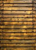 zaszaluje drewno Obraz Stock