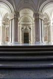 Zaszczyta Uroczysty schody, Caserta Obraz Stock