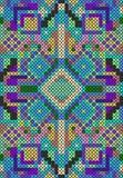 Zaszyty bezszwowy wzór Obrazy Stock