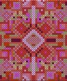 Zaszyty bezszwowy wzór Zdjęcie Stock