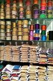 Zaszywanie nici sklep Fotografia Stock