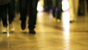 zatłoczeni metro kroki zdjęcie wideo