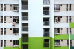 Zatłoczeni mieszkania w Hong Kong Obrazy Royalty Free