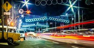Zatłoczona droga Zdjęcia Royalty Free