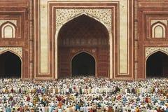 zatłoczony meczet Zdjęcia Royalty Free