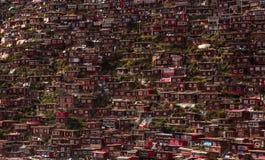 Zatłoczony rewolucjonistka dom Buddyjska akademia Zdjęcia Royalty Free