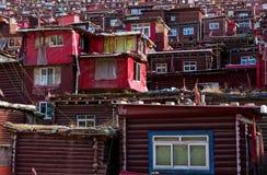 Zatłoczony rewolucjonistka dom Buddyjska akademia Zdjęcia Stock