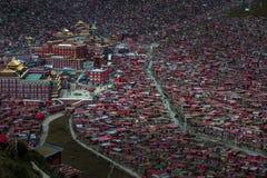 Zatłoczony rewolucjonistka dom Buddyjska akademia Zdjęcie Royalty Free