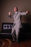 zatańcz biznesmena Zdjęcie Royalty Free
