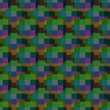 Zatarty colour szyk ilustracja wektor