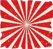 Zatarty rocznika Tło czerwone światła Fotografia Royalty Free