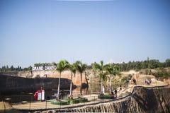Zaterdag 24 Decenber 2016 in Groot het waterpark van canionchiangmai Royalty-vrije Stock Foto