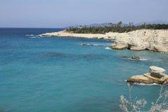 Zatoczka denny Krajobraz Zdjęcie Stock