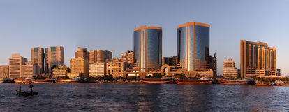 zatoczka Dubai Zdjęcie Royalty Free