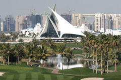 zatoczka Dubai Fotografia Royalty Free