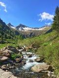 Zatoczka na Alps Zdjęcie Royalty Free