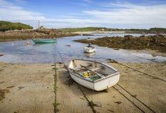 Zatoczka, St Agnes, wyspy Scilly, Anglia Obrazy Stock