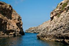 zatoczka trochę śródziemnomorska obraz royalty free