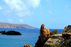 Zatoczka w Crete Zdjęcia Stock