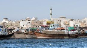 Zatoczka w Dubaj fotografia royalty free