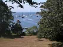 Zatoczka w Falmouth Massachusetts Zdjęcia Royalty Free