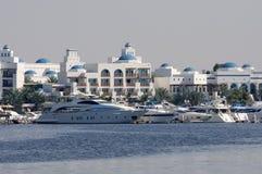 zatoczki Dubai jachty zdjęcie stock