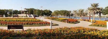 zatoczki Dubai park zdjęcie stock