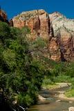 zatoczki park narodowy Utah zion Zdjęcie Royalty Free