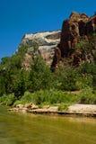 zatoczki park narodowy Utah zion Fotografia Royalty Free