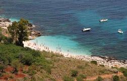 zatoczki rezerwowy Sicily zingaro Zdjęcia Royalty Free